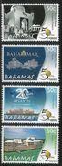 2014 Bahamas Tourism Hotels  Complete Set Of 4 MNH  @FACE - Bahamas (1973-...)