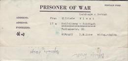 POW Letter 8550. Lab Serv. Co. 5th Lab. Supv. Area APO 21 PWE 412 To Heidelberg - 1946 (38930) - Etats-Unis