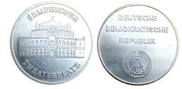 03308 GETTONE TOKEN JETON SEMPEROPER THEATERPLATZ DDR DRESDEN - Allemagne