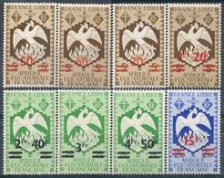 AEF  N° 198-205 * - A.E.F. (1936-1958)