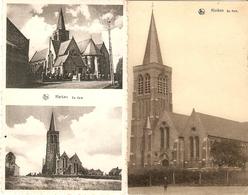 Klerken : Kerk --  2 Kaarten - Houthulst