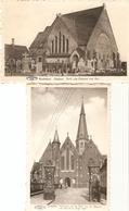 Koekelare  : Kerken --  2 Kaarten - Koekelare