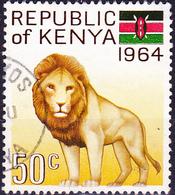 Kenya - Löwe (Panthera Leo) (Mi.Nr.: 17) 1964 - Gest. Used Obl - Kenya (1963-...)