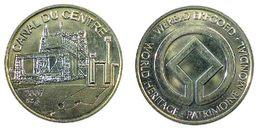 04748 GETTONE TOKEN JETON TOURISTIC HERITAGE PATRIMOINIE MONDIAL CANAL DU CENTRE - Unclassified