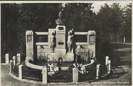 Groningen - Scholten Monument Stadspark. Sent To Germany 1934. Holland. S-4648 - Netherlands