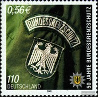 BRD 2175 (kompl.Ausg.) Postfrisch 2001 50 Jahre BGS - [7] République Fédérale