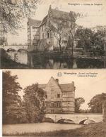 Waereghem / Waregem : Kasteel Van Poteghem --- 2 Kaarten - Waregem