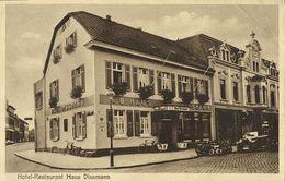 HILDEN, Hotel-Restaurant Haus Dissmann (1920s) AK - Hilden