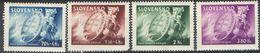 E073) SLOVACCHIA 1945 SERIE COMPLETA MNH - Nuovi