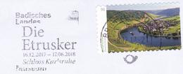 Germany 2017 Exhibition Die Etrusker Karlsruhe Italia Archeology Nice Cancellation - Archäologie