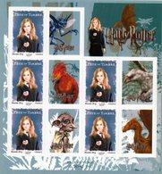 Feuilles Hermione Granger. Fête Du Timbre 2007 - France
