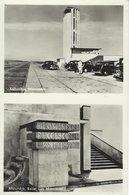 Afsluitdijk 2 Views. Netherlands. Sent To Denmark 1955.    S-4654 - Netherlands