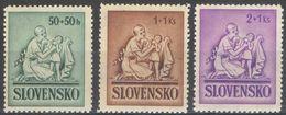 E064) SLOVACCHIA 1941 SERIE COMPLETA MNH - Nuovi