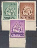 E063) SLOVACCHIA 1941 SERIE COMPLETA MNH - Nuovi