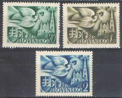 E065) SLOVACCHIA 1942 SERIE COMPLETA MNH - Slovacchia