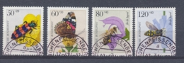 Duitsland/Germany/Allemagne/Deutschland 1984 Mi: 1202-1205 Yt: 1034-1037 (Gebr/used/obl/o)(4022) - BRD