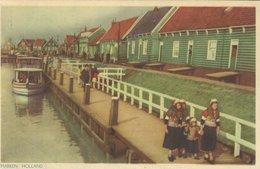 Marken Holland. Sent To Denmark 1954   Netherlands.     S-4656 - Marken