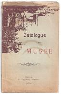 Nemours -catalogue Du Musée -société Des Amis Du Vieux Château -chez Vaillot. 1907 - Ile-de-France