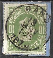 _8S-546: N° 30: E10:  GAND  1-2S: Dubbel Uur - 1869-1883 Leopold II