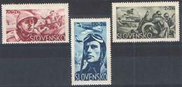 E083) SLOVACCHIA 1943 SERIE NUOVI MNH** - Slovacchia