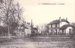 95 - MARINES : La Halte - CPA - Val D'Oise - Marines