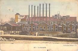 95 - US : La Sucrerie ( Usine Avec Hauts Fourneaux )  CPA Colorisée - Val D'Oise - Andere Gemeenten