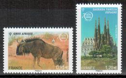 Frankreich / France - Dienstmarke UNESCO 2015 Kulturerbe Der Menschheit / World Heritage ** - Servizio