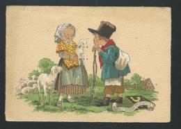 Les Petis Métiers , Le Petit Berger  , Illustration  Signée Naudy   - Gaf01 - Naudy