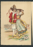 Les Costumes Dans Les  Provinces Françaises  , Bretagne    , Illustration   Naudy   - Gaf41 - Naudy