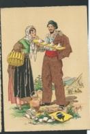 Les Costumes Dans Les  Provinces Françaises , Corse  , Illustration   Naudy   - Gaf44 - Naudy