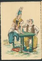Les Costumes Dans Les  Provinces Françaises , Normandie     , Illustration   Naudy   - Gaf47 - Naudy