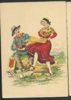 Les Costumes Dans Les  Provinces Françaises , Auvergne  , Illustration   Naudy   - Gaf53 - Naudy