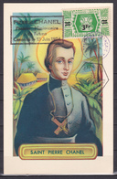 Wallis Et Futuna 1954 Saint Pierre Chanel Carte 36 FDC Luxe - Wallis-Et-Futuna
