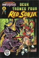 Série ARTIMA COLOR MARVEL SUPER STAR N° 12 - CONAN LE BARBARE : DEUX TRÔNES POUR RED SONJA - 1981 - Conan