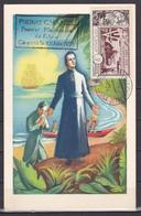 Wallis Et Futuna 1954 Saint Pierre Chanel Carte 37 FDC Luxe - Wallis-Et-Futuna