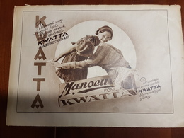 Chocolade KWATTA : 1 Blz Uit Oud Tijdschrift: Ons Land 1935 - Chocolat