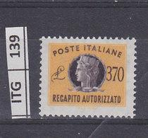 ITALIA  1965Recapito Autorizzato 370 L Nuovo - Vari