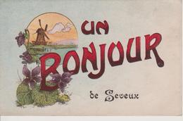 70 - SEVEUX - UN BONJOUR DE - Other Municipalities