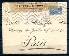 GRECE - 25.04.1918 - Courrier Censuré Pour PARIS (voir Description) - Guerra De 1914-18