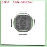 CARAÏBES ORIENTALES  2  CENT  1994 - Caraïbes Orientales (Etats Des)
