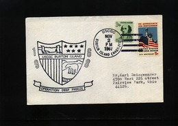 USA 1967 Deep Freeze Operation USCGC Burton Island Interesting Polar Cover - Polare Shiffe & Eisbrecher
