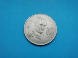 MEXIQUE  20 Centavos  1976 - Mexico