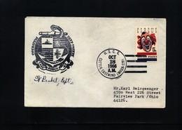 USA 1966 Deep Freeze Operation USCG Cutter Eastwind Interesting Polar Cover - Polare Shiffe & Eisbrecher