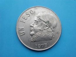 MEXIQUE  1  Peso  1975 - Messico