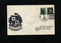 USA 1966 Deep Freeze Operation USS Thomas J. Gary Interesting Polar Cover - Polare Shiffe & Eisbrecher