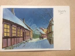 DENMARK - Glædelig Jul Happy Christmas 1952 - Christmas