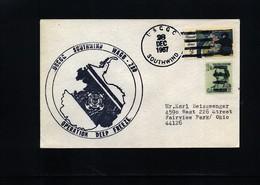 USA 1967 Deep Freeze Operation USCGC Southwind Interesting Polar Cover - Polare Shiffe & Eisbrecher