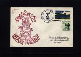 USA 1968 Deep Freeze Operation USCGC Westwind Interesting Polar Cover - Polare Shiffe & Eisbrecher