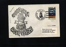 USA 1971 Deep Freeze Operation USCGC Westwind Interesting Polar Cover - Polare Shiffe & Eisbrecher