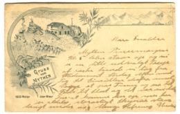 GRUSS Vom MYTHEN Restaurant 1897 - SZ Schwyz